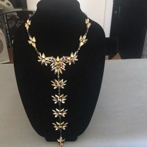 Express chunky jeweled necklace